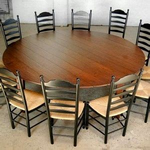 large  dining table  seat farmhouse dining room