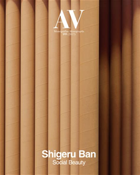libro shigeru ban shigeru ban arquitectura viva 183 revistas de arquitectura
