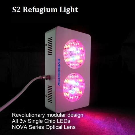 evergrow led grow lights evergrow s2 90w led refugium light 90w