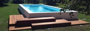 piscina da esterno prezzi piscine e minipiscine da terrazzo giardino interno ed