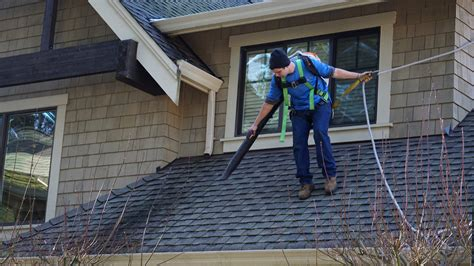 window and roof cleaning roof gutter cleaning gig harbor
