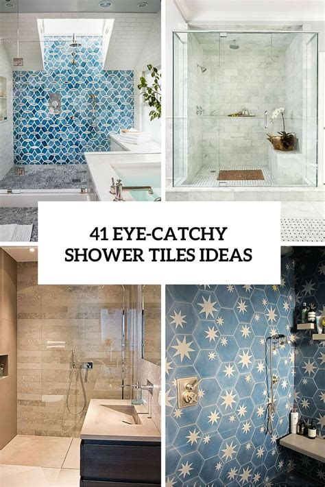 bathroom shower floor tile ideas 41 cool and eye catchy bathroom shower tile ideas digsdigs