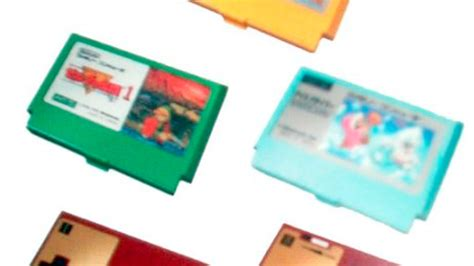 Nes Business Card Holder Looks by Nintendo Famicom Business Card Holders Combine Your