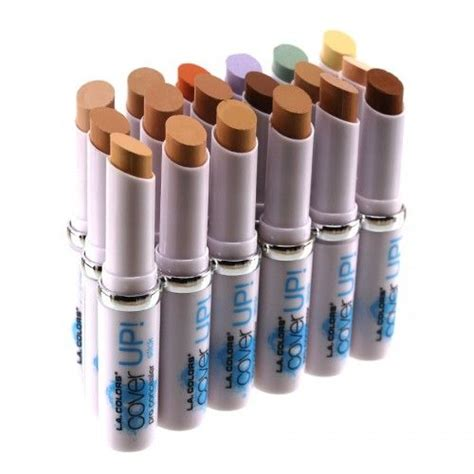 all shades of la colors pro concealer stick mirror