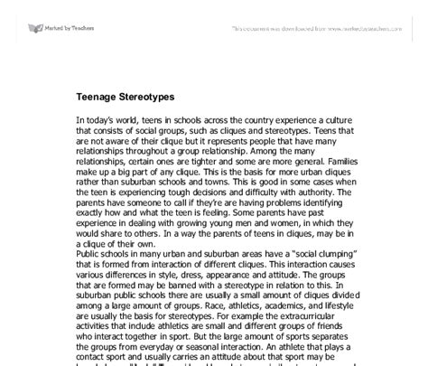 Ethnicity And Identity Essay by Essay Stereotypes Exle Essay For Week Eng Essay Dreams Stereotypes And Identity Docs