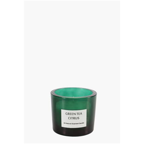 Sho Wax green tea and citrus wax fill candle shop new in home