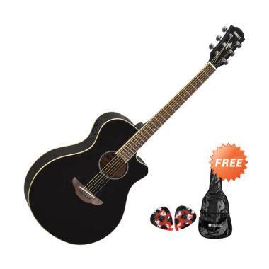 Harga Gitar Yamaha Apx 600 jual yamaha apx 600 gitar akustik elektrik hitam free