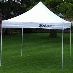 Gazebo Canopy Tent by Gigatent 10 X 10 Lightweight Pop Up Canopy Tent