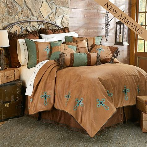 rustic bedroom comforter sets las cruses ii comforter set hiend accents rustic bedding