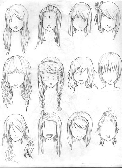 girl hairstyles deviantart another hair reference by tenzen888 deviantart com on