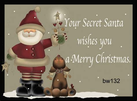secret santa wishes   merry christmas splendid secret santa solutions pinterest