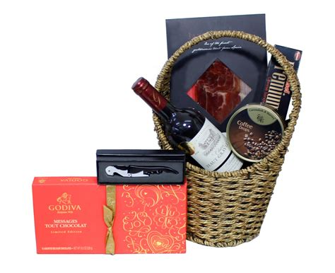 godiva ham gifts food basket 31 lala gifts hers