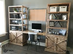 diy laptop desk diy office desk system shanty 2 chic