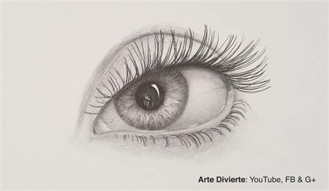 imagenes de ojos hechos a lapiz c 243 mo dibujar un ojo a l 225 piz youtube