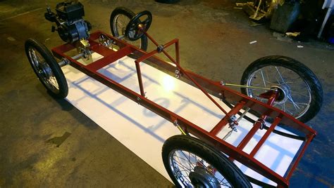 A Frame Building Plans by Goodwood Cyclekart Chassis Cyclekart Uk