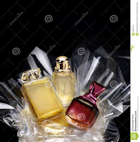 Great Gift Ideas The Perfumes by Generic Perfume Bottles In A Gift Set Stock Image Image