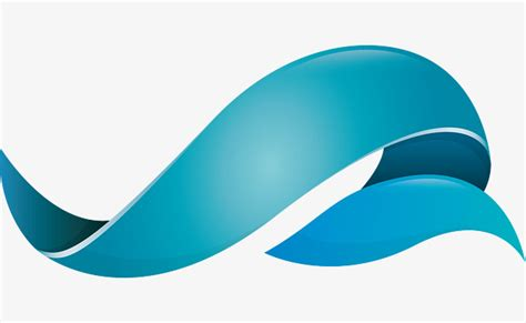 creative folding logo design creative fold ribbon png