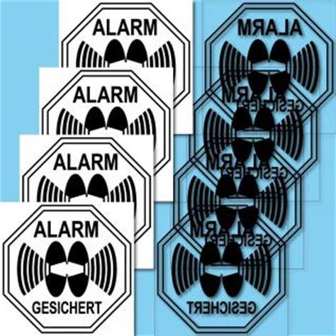 Aufkleber Auto Alarmgesichert by Aufkleber Alarmgesichert G 252 Nstig Kaufen Bei Yatego