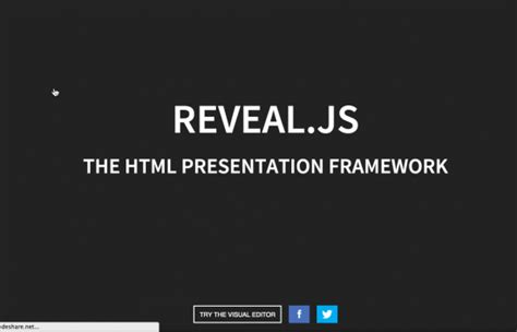 tutorial javascript ppt reveal js an html5 alternative to powerpoint with