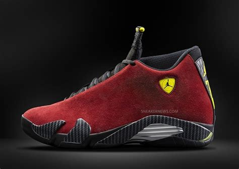 Jordan 14 Ferrari by Air Jordan 14 Ferrari Sneakernews