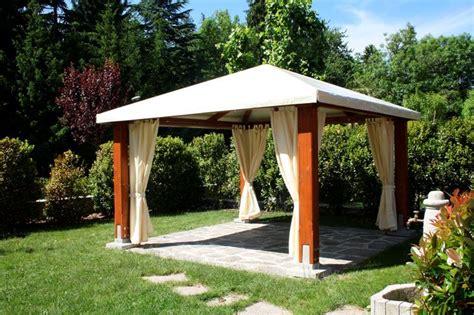 legno per gazebo fai da te gazebo fai da te arredamento giardino come realizzare