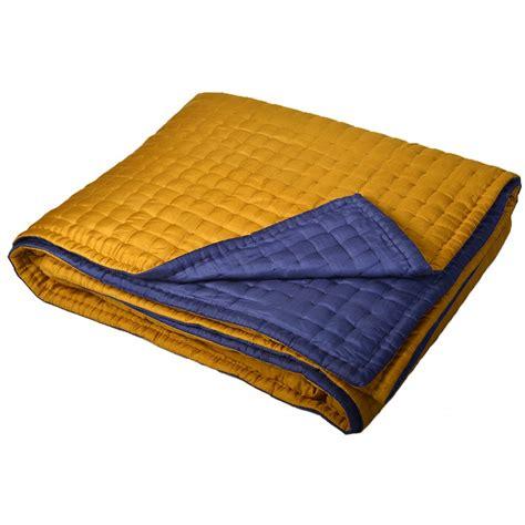 couvre lit jaune 1702 couvre lit jaune parure couvre lit lulu jaune linge de