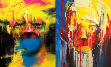 painting on antistatik faces