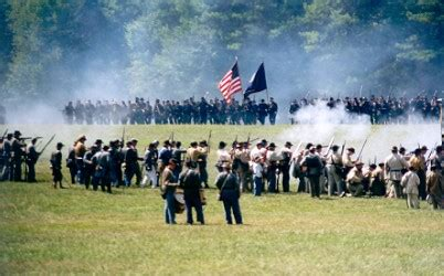 civil war travel events on the road battle of tunnel hill reenactment