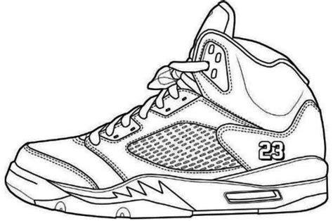sneaker coloring book jordans shoes coloring pages printable 2 shoes coloring