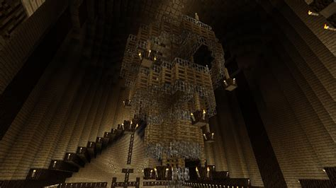 Home Design Diamonds large chandelier minecraft project