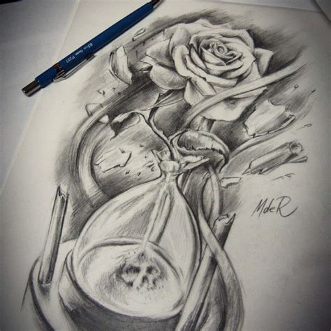 rose hourglass tattoo hourglass shaped search