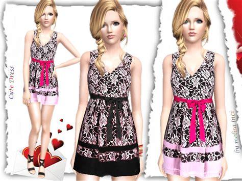 for my sims sunset caramel kawaii mini dress sims 3 kawaii clothes melisa inci s cute dress