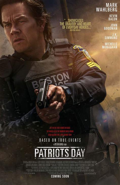 patriots day patriots day 2017 poster 4 trailer addict