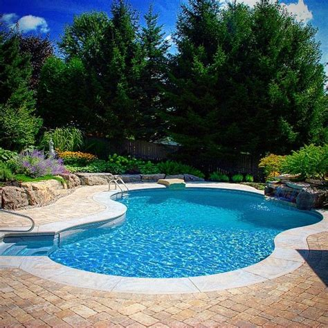 Backyard With A Pool 25 Best Ideas About Rock Waterfall On Garden Waterfall Outdoor Water Features And