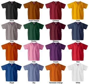 scrubs colors gelscrubs healthcare classic scrub tops 16 colors