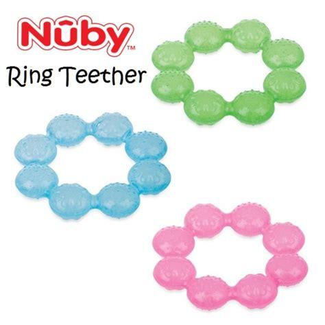 Nuby Combi Pacifier Atau Empeng nuby ring teether icybite gigitan berisi gel pendingin utk bayi