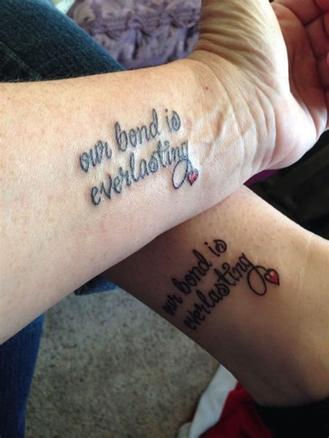 like mother like daughter tattoos 15 best images about me and shainas tatoos on