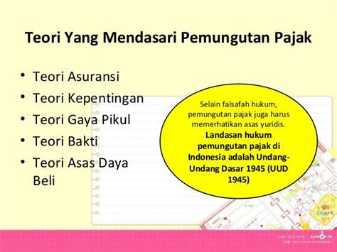 Hukum Pajak Indonesia pajak dan hukum pajak