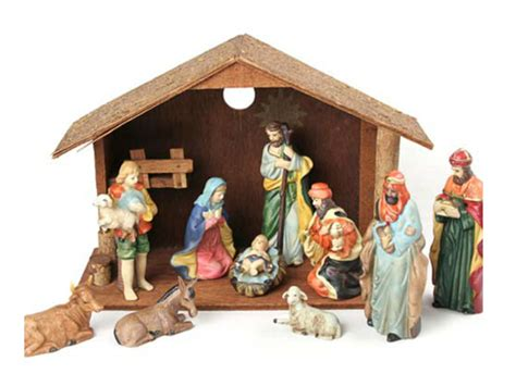 jesus christmas crib statue set buy crib set