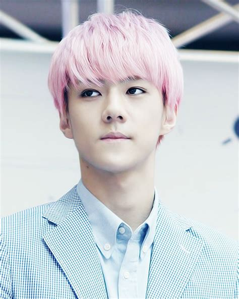 exo sehun pink hair 1000 images about exo on pinterest