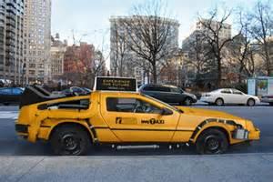 new york taxi car dmc delorean new york city taxi cab hiconsumption