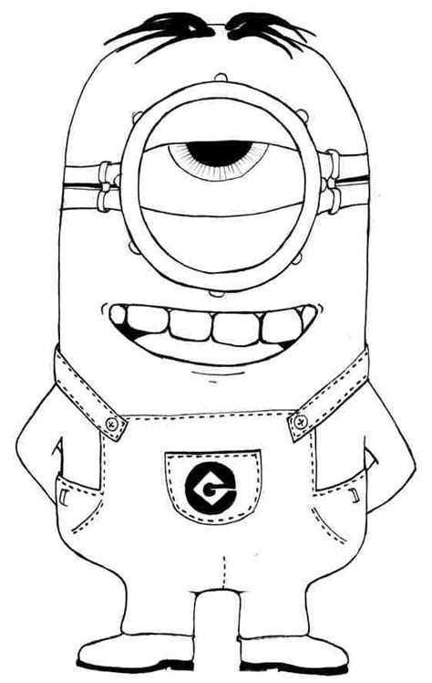 coloring pages minions movie minion coloring pages to print coloring home