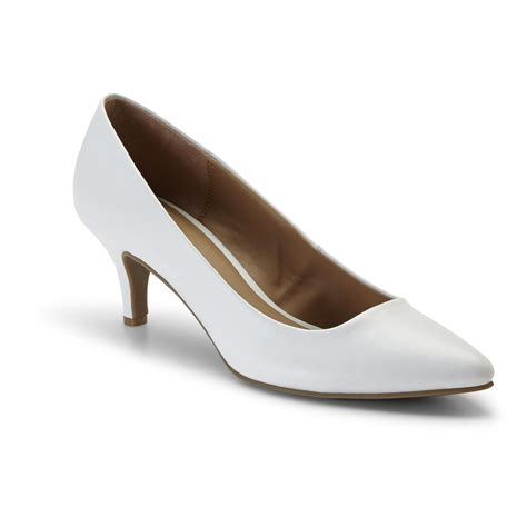 attention s dress shoe zoey white shop your way