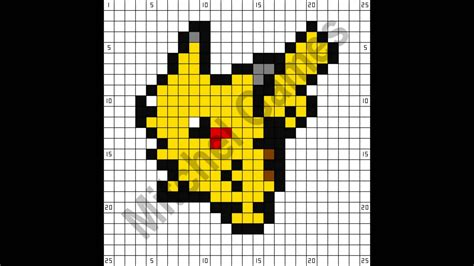 pixel minecraft templates www pixshark images galleries with a bite 8 bit pikachu grid www pixshark images galleries