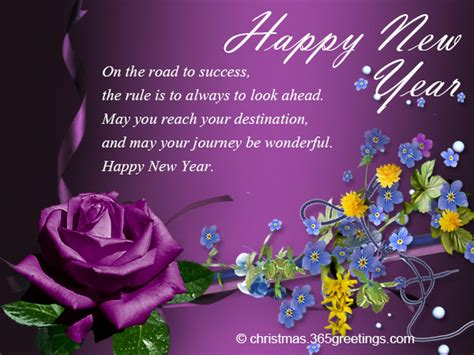 greeting card sayings for new year business new year messages 365greetings