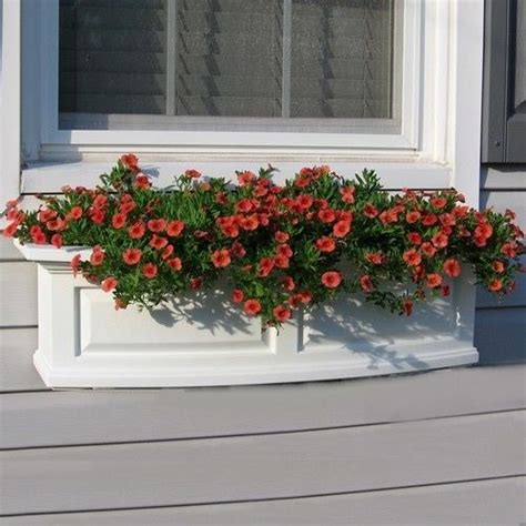 Outdoor Window Boxes Window Box Planters by New Mayne Nantucket 36 Quot Window Box Outdoor Flower Planter
