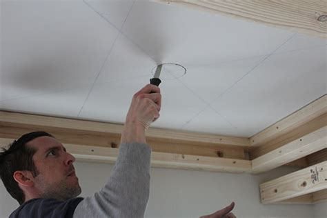 Cutting In A Ceiling by Our Home From Scratch