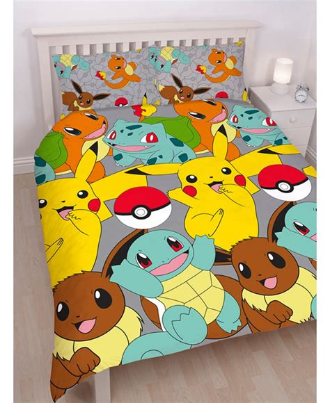 pokemon comforter queen pokemon double queen doona cover licensed kids