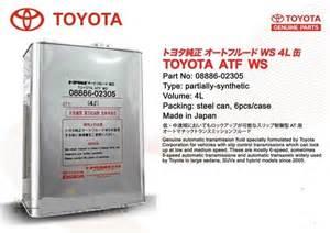 Toyota Atf Toyota Atf Ws