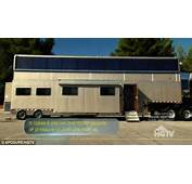 Vin Diesel's Two Story Mobile Home Trailer Has It All He Allowed